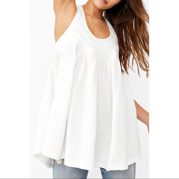 NWT Free People New You Tank / Ivory